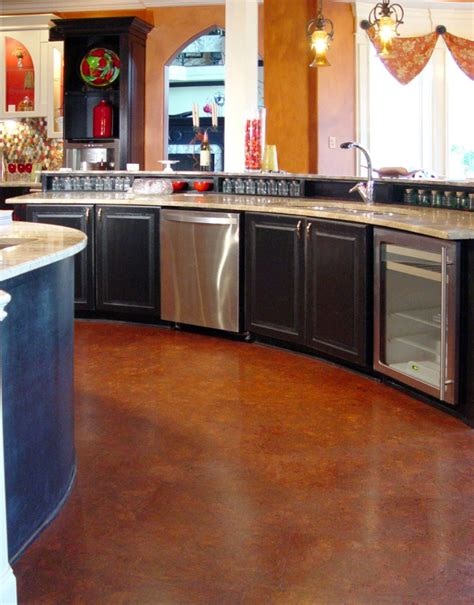 cork floors in kitchen qu cork cork flooring products water resistant