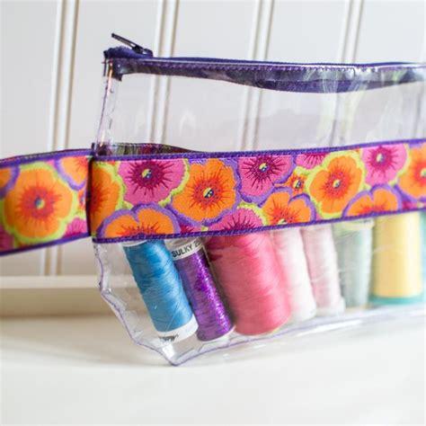 vinyl pouch pattern free sewing pattern ribbon and vinyl zipper pouch