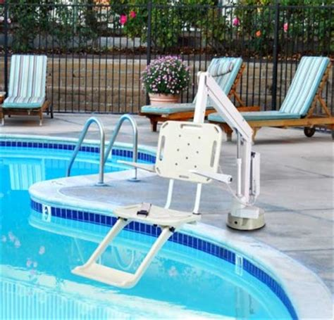 Pool Chair Lift by New Requires Commercial Pools To Be Handicap Accessible