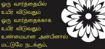 love quotes in tamil tamil image quotes