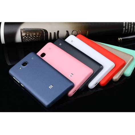 Matte Battery Back Cover Replacement Xiaomi Redmi 2redmi 2 Prime 4 cover baterai matte xiaomi redmi 2 redmi 2 prime black jakartanotebook