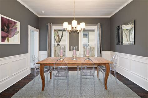 dark gray dining room modern yet traditional dining room traditional dining