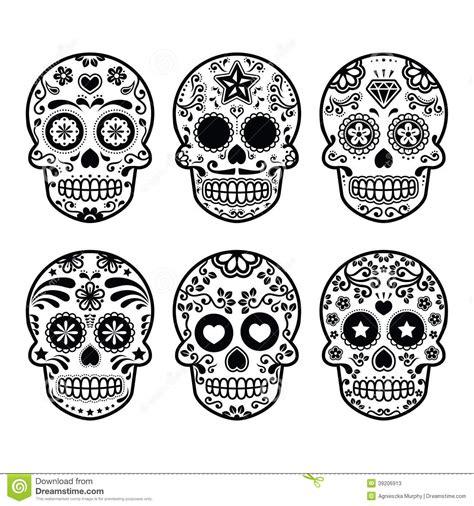 dia de los muertos skull template printable blank search results calendar 2015