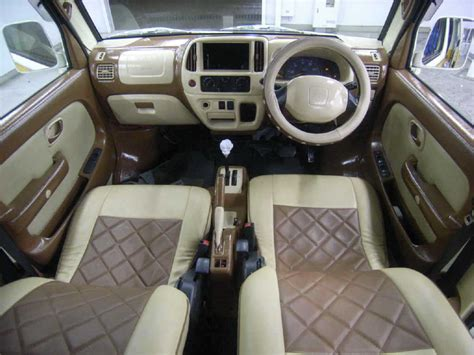 suzuki every interior suzuki every modified van check out suzuki every modified