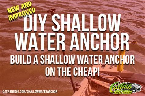 homemade boat anchor design diy shallow water anchor an anchor pole quot on the cheap quot