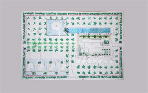 giardini islamici progetto di giardino a zwarah libia tecnica