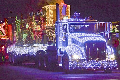 light parade floats sunnyside s 25th annual lighted farm implement parade