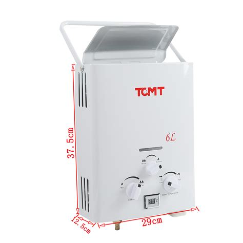 Water Heater Acme Compact gas instant water heater lpg propane gas 6l water