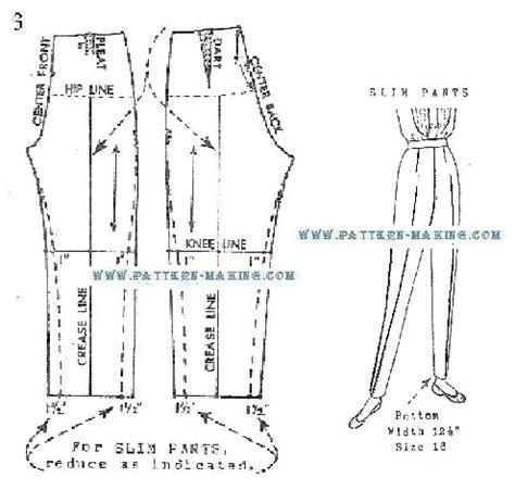 pattern drafting women s pants drafting slack pattern sewing pinterest