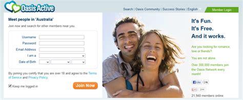 Oasis free dating login
