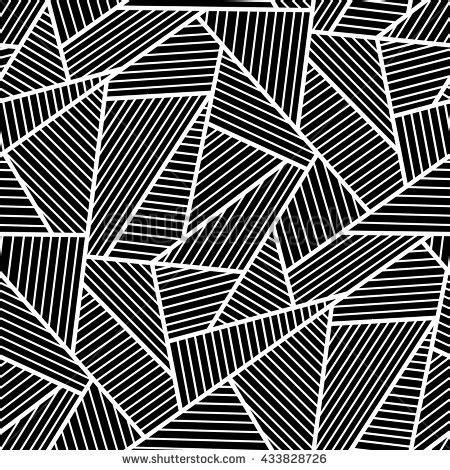 seamless pattern plugin abstract black white seamless pattern stock vector