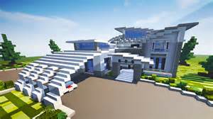 contemporary modern house minecraft maps