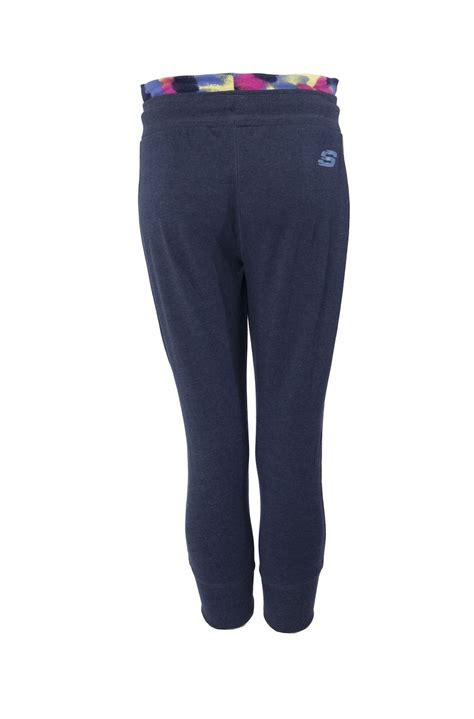 Skechers Joggers by Skechers Womens Joggers Casual Cropped Sweatpants 3 4
