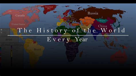 new year history summary the history of the world every year