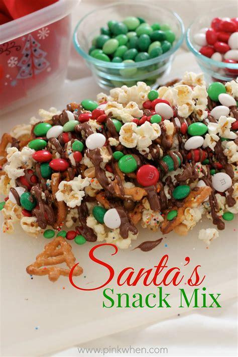 holiday snack mix recipe dishmaps