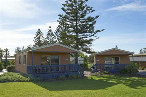 West Caravan Park Cabins by Exterior Of A Deluxe Cabin Right Near The