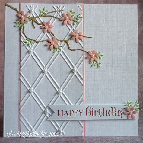 Cutting Dies Happy Birthday Card Patern a scrapjourney march 2012