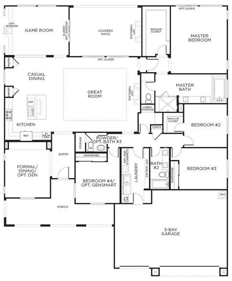 Las Vegas Floor Plan by Durango Trail Prescott Coming Soon Las Vegas Pardee