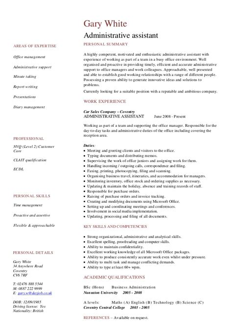 Technology Skills Resume Examples by Cv Resume Examples To Download For Free