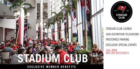 ta bay bucs club seats ta bay buccaneers stadium club members
