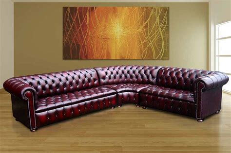 Buy Leather Corner Sofa 12 Month Warranty Designersofas4u Chesterfield Sofa Suite