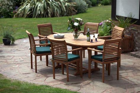Humber Teak Garden Furniture Uk Oval Teak Garden Furniture Set Humber Imports Uk