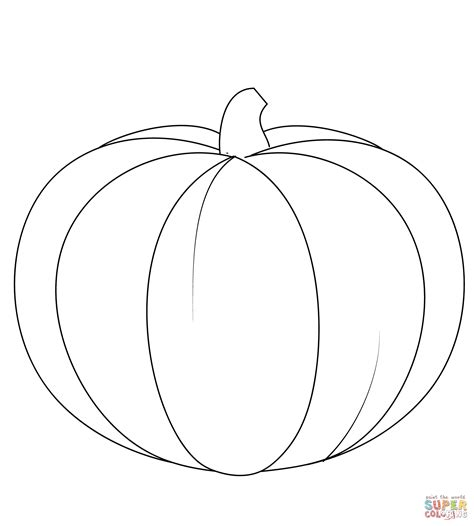 Pumpkin Coloring Page Free Printable Coloring Pages Pumpkin Coloring Pages Print