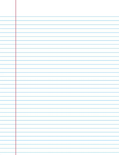 lined notebook paper template word college ruled paper when you re in a bind and need a