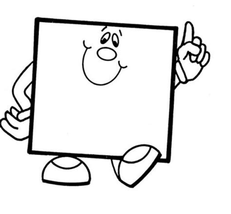 square coloring pages square coloring page 2 projects for children