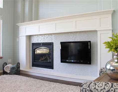 home dzine home diy build a fireplace surround with
