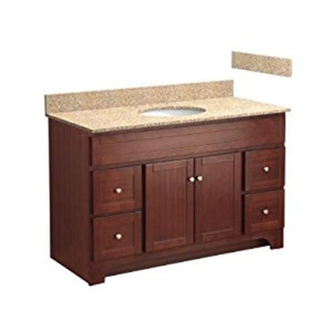 Bathroom Vanity With Top Combo Foremost Cocat4821d 8w 48 Inch Columbia Bathroom Vanity Combo With Wheat Beige Granite Top Pre