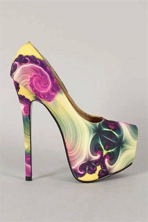 multi colored pumps multi colored stiletto pumps pictures photos and images