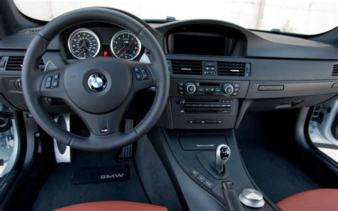 2008 Bmw M3 Interior by 2008 Bmw M3 Dct Test Motor Trend