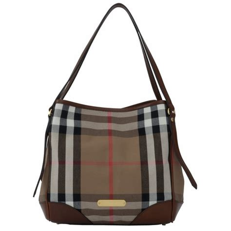 authentic burberry bridle house check small canterbury