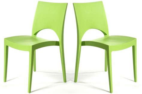 chaise verte lot de 2 chaises design vertes delhi design sur sofactory