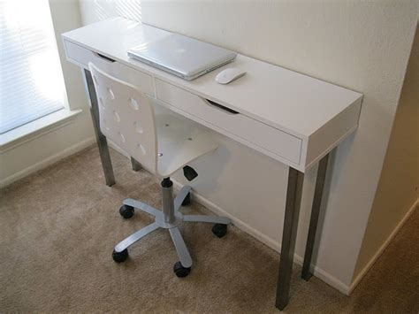 Narrow Desks For Small Spaces Narrow Desk Could Be Great For Small Spaces For The Home Pinterest Ikea Products Small