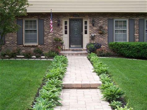 new brick walkway decor curb appeal ideas pinterest brick walkway rock walkway and