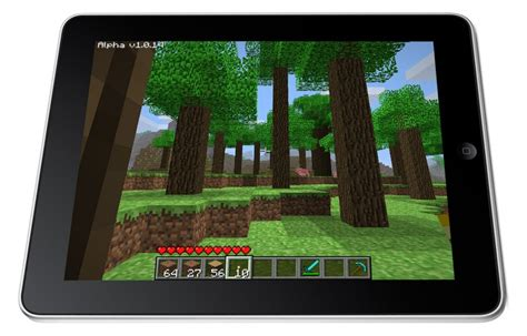 full version of minecraft on ipad minecraft is coming to iphone ipad forevergeek