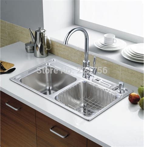 dikon 304 stainless steel kitchen sink torneiras para pia free shipping best price industrial kitchen sink stainless