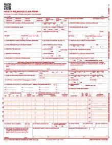 hcfa claim form 1500 images
