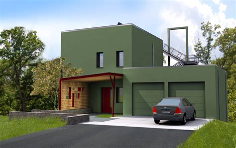 virtual outside home design design 171 passive house in the woods
