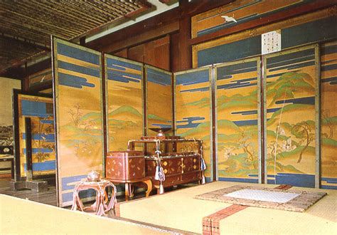 Japanese Palace Interior by Kyoto Imperial Palace Interior
