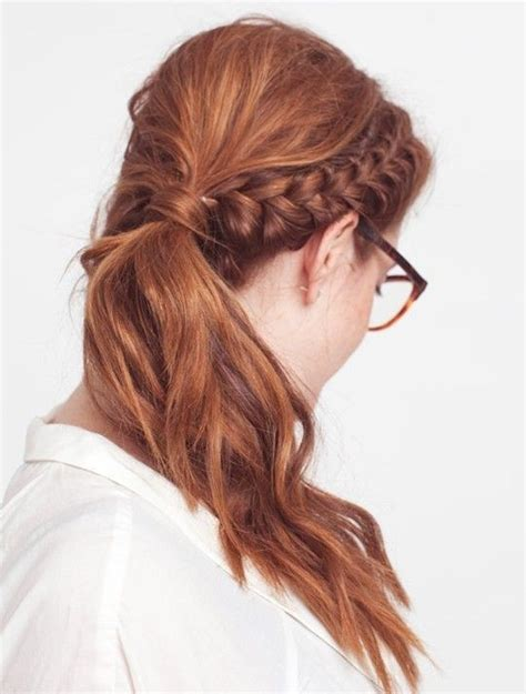 18 simple office hairstyles for you to see