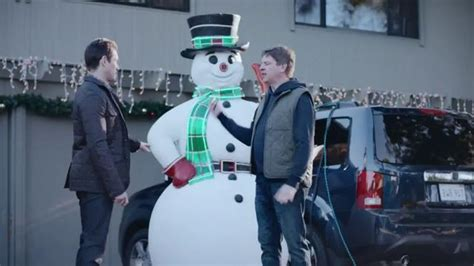 commercial woman hits snowman characters in commercials you hope die of gonorrhea and
