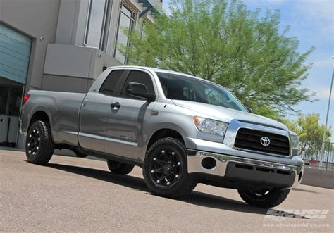 Black Rims For Toyota Tundra 2008 Toyota Tundra With 18 Quot Ballistic Road 814 Jester