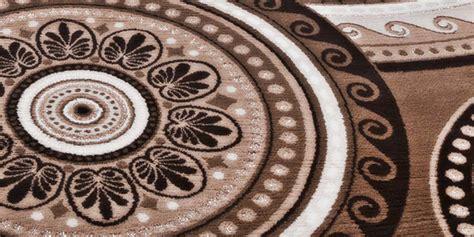 teppich rund muster eye catcher guru mandala muster orient orientalisch rund