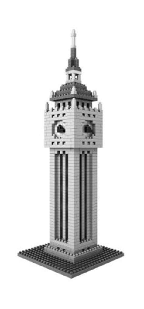 Loz 9372 Architecture Nano Block Nanoblock Swfc Financial Center loz micro blocks clock tower model small building block set nanoblock compatible 870