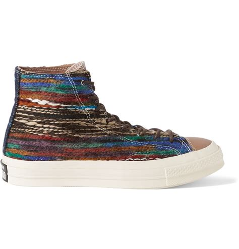 converse all high top sneakers converse all chuck woven high top sneakers in