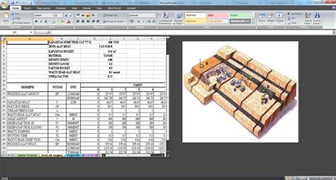 study kelayakan tambang dengan excel tutorial software
