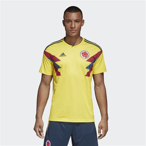 Jersey Kolombia 2018 World Cup 2018 colombia 2018 world cup adidas home kit 17 18 kits football shirt